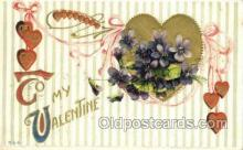 val100261 - Valentines Day Postcard Post Cards