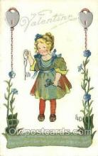 val100362 - Artist Ethel Dewees, Valentines Day Postcard Post Cards
