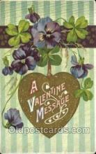 val100405 - Valentines Day Postcard Post Cards