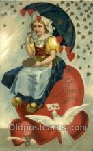 val100419 - Valentines Day Postcard Post Cards