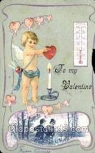 val100422 - Valentines Day Postcard Post Cards