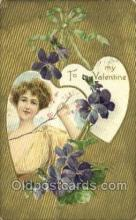val100423 - Valentines Day Postcard Post Cards