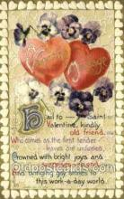val100429 - Valentines Day Postcard Post Cards