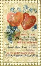 val100430 - Valentines Day Postcard Post Cards