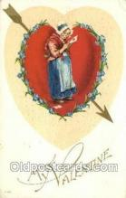 val100507 - Valentines Day Postcard Post Cards