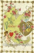 val100515 - Valentines Day Postcard Post Cards