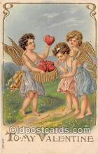 val100559 - Valentines Day Postcard Post Card Old Vintage Antique