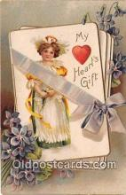 val100571 - Valentines Day Postcard Post Card Old Vintage Antique