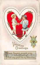 val100576 - Valentines Day Postcard Post Card Old Vintage Antique