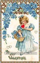 val100577 - Valentines Day Postcard Post Card Old Vintage Antique