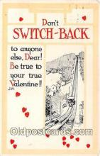 val100587 - Valentines Day Postcard Post Card Old Vintage Antique