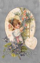 val100589 - Valentines Day Postcard Post Card Old Vintage Antique