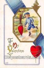 val100602 - Valentines Day Postcard Post Card Old Vintage Antique