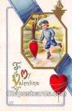 val100602 - Valentines Day Postcard Post Card Old Vintage Antique