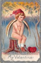 val100607 - Valentines Day Postcard Post Card Old Vintage Antique