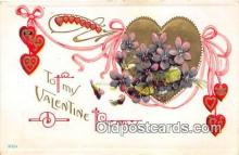 val100632 - Valentines Day Postcard Post Card Old Vintage Antique