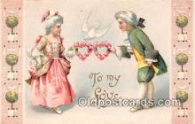 val100634 - Valentines Day Postcard Post Card Old Vintage Antique