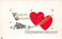 val100635 - Valentines Day Postcard Post Card Old Vintage Antique