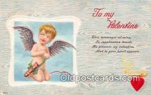 val100636 - Valentines Day Postcard Post Card Old Vintage Antique