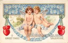 val100644 - Valentines Day Postcard Post Card Old Vintage Antique