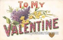 val100645 - Valentines Day Postcard Post Card Old Vintage Antique