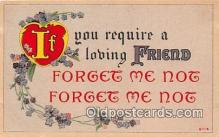 val100648 - Valentines Day Postcard Post Card Old Vintage Antique