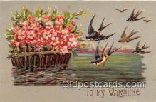 val100657 - Valentines Day Postcard Post Card Old Vintage Antique