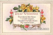 val100659 - Valentines Day Postcard Post Card Old Vintage Antique