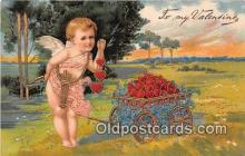 val100667 - Valentines Day Postcard Post Card Old Vintage Antique