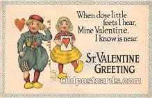 val100669 - Valentines Day Postcard Post Card Old Vintage Antique