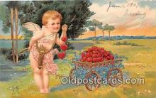 val100674 - Valentines Day Postcard Post Card Old Vintage Antique