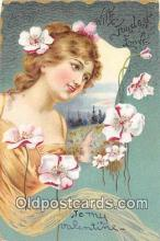 val100676 - Valentines Day Postcard Post Card Old Vintage Antique