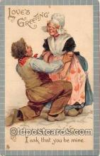 val100680 - Valentines Day Postcard Post Card Old Vintage Antique