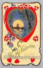 val100682 - Valentines Day Postcard Post Card Old Vintage Antique