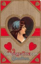 val100683 - Valentines Day Postcard Post Card Old Vintage Antique