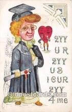 val100685 - Valentines Day Postcard Post Card Old Vintage Antique