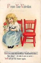 val100693 - Valentines Day Postcard Post Card Old Vintage Antique