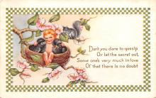val200033 - Valentines Day Post Card Old Vintage Antique Postcard