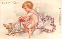 val200049 - Valentines Day Post Card Old Vintage Antique Postcard