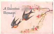val200065 - Valentines Day Post Card Old Vintage Antique Postcard