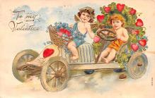 val200169 - Valentines Day Post Card Old Vintage Antique Postcard
