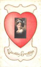 val200171 - Valentines Day Post Card Old Vintage Antique Postcard