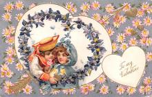 val200233 - Valentines Day Post Card Old Vintage Antique Postcard