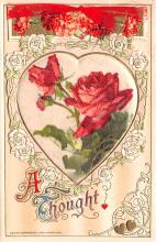 val200253 - Valentines Day Post Card Old Vintage Antique Postcard