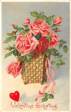 val200291 - Valentines Day Post Card Old Vintage Antique Postcard