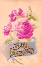val200353 - Valentines Day Post Card Old Vintage Antique Postcard