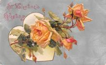 val200367 - Valentines Day Post Card Old Vintage Antique Postcard