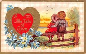 val200379 - Valentines Day Post Card Old Vintage Antique Postcard