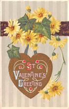 val200395 - Valentines Day Post Card Old Vintage Antique Postcard