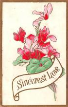 val200403 - Valentines Day Post Card Old Vintage Antique Postcard